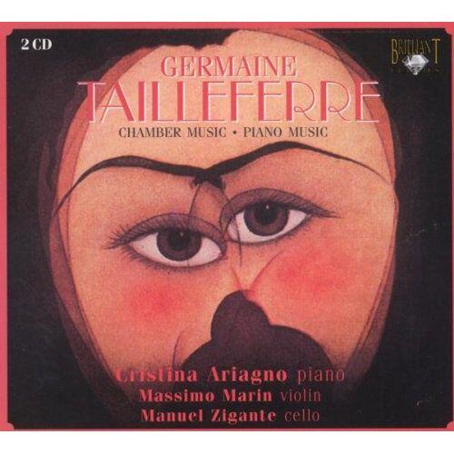 Massimo Marin (Violine) - Tailleferre: Piano Music - Chamber Music - Preis vom 20.10.2020 04:55:35 h