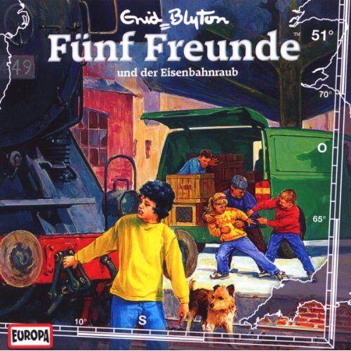 Fünf Freunde - 051/Und Der Eisenbahnraub - Preis vom 22.11.2020 06:01:07 h