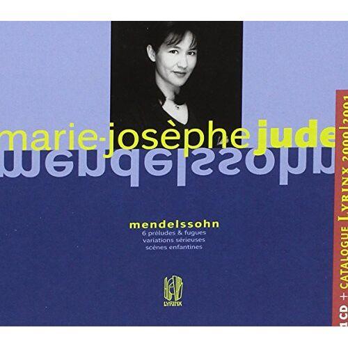 Mendelssohn: Marie-Joseph Jude - Oeuvres pour Piano - Preis vom 20.10.2020 04:55:35 h