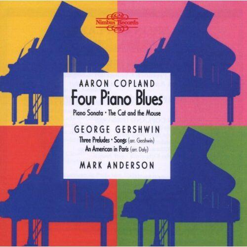 Mark Anderson - Anderson Live In Concert (Werke von Copland und Gershwin) - Preis vom 20.10.2020 04:55:35 h