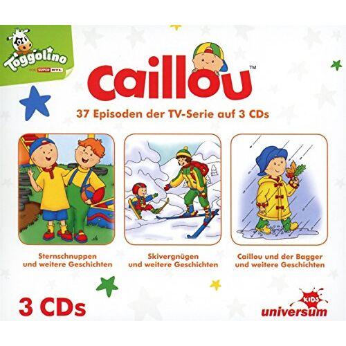 Caillou - Caillou Hörspielbox 1 (CD 1-3) - Preis vom 05.05.2021 04:54:13 h