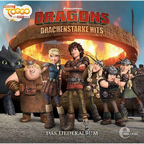 Dragons - Liederalbum-Drachenstarke Hits - Preis vom 15.04.2021 04:51:42 h