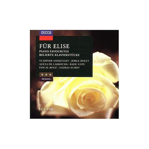Ashkenazy - Für Elise-Solostücke F.Klavier - Preis vom 21.04.2021 04:48:01 h