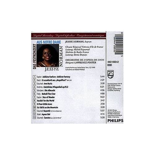 Norman Jessye Norman at Notre Dame - Preis vom 11.05.2021 04:49:30 h