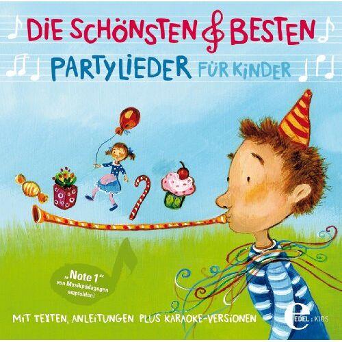 Various - Die Schönsten & Besten Partylieder für Kinder - Preis vom 18.04.2021 04:52:10 h