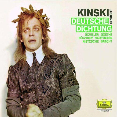 Goethe, Johann Wolfgang von - Kinski spricht deutsche Dichtung. 4 CDs - Preis vom 06.05.2021 04:54:26 h