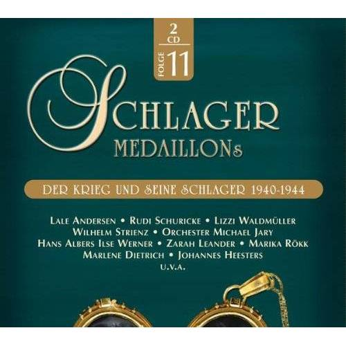 Various - Schlagermedaillons 11-1940-44 - Preis vom 03.09.2020 04:54:11 h