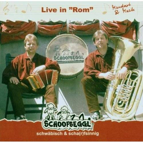 Schoofseggl - Live in Rom - Preis vom 20.10.2020 04:55:35 h