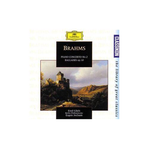 Emil - Brahms;Piano Concerto No.2 - Preis vom 24.02.2021 06:00:20 h