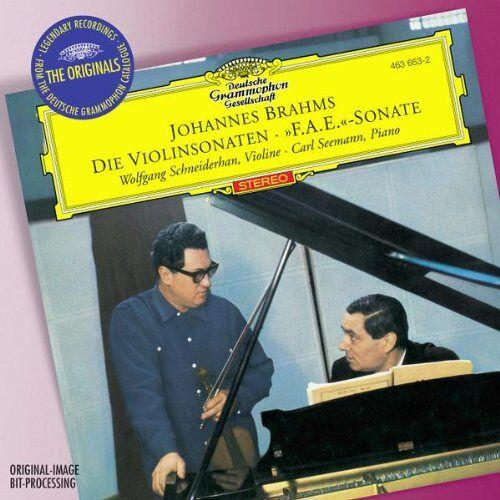 Wolfgang Schneiderhan - Violinsonaten 1-3 (Ga)/F.a.E.Sonate - Preis vom 05.09.2020 04:49:05 h