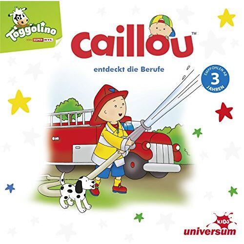 Caillou - Caillou Entdeckt die Berufe - Preis vom 06.05.2021 04:54:26 h