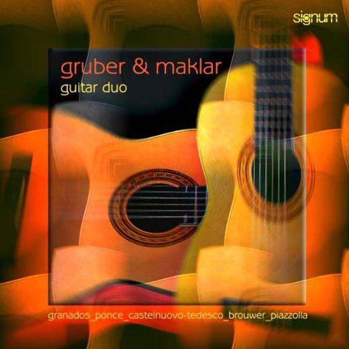 Gruber & Maklar-Gitarre - Werke für zwei Gitarren - Preis vom 11.05.2021 04:49:30 h