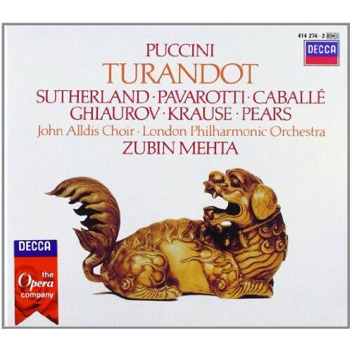 Joan Sutherland - Turandot - Preis vom 25.02.2020 06:03:23 h