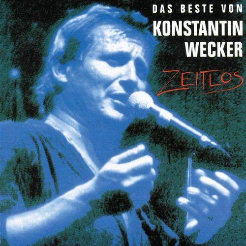 Konstantin Wecker - Zeitlos: Das Beste von Konstantin Wecker - Preis vom 07.03.2021 06:00:26 h