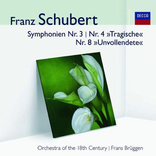 - Sinfonien 3,4 Tragische,8 (Audior) - Preis vom 07.05.2021 04:52:30 h