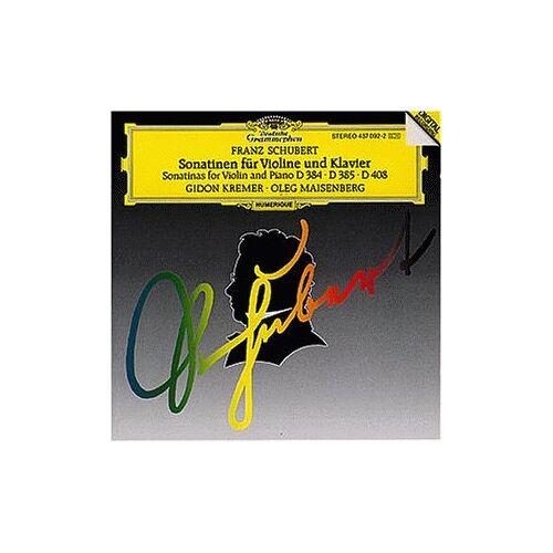 Gidon Kremer/Oleg Maisenberg - Sonatinen für Violine und Klavier - Preis vom 13.05.2021 04:51:36 h