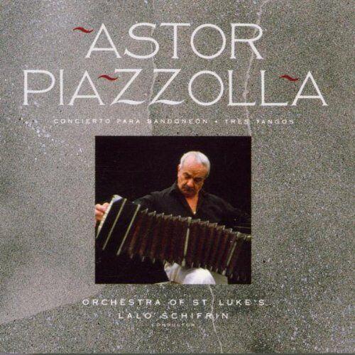 Astor Piazzolla - Concerto Para Bandoneon - Tres Tangos - Preis vom 01.06.2020 05:03:22 h