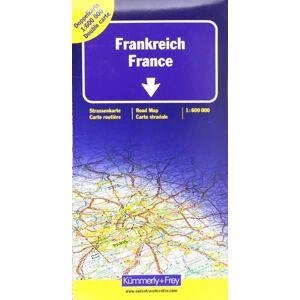 Kümmerly + Frey - Kümmerly & Frey Karten, Frankreich, Doppelkarte Nord und Süd: Doppelkarte Nord u. Süd: Indexed (International Road Map) - Preis vom 03.08.2020 04:53:25 h