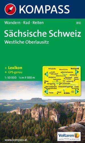 Collectif - Sächsische Schweiz, Westliche Oberlausitz: 1:50.000. Wander- und Bikekarte - Preis vom 14.03.2021 05:54:58 h