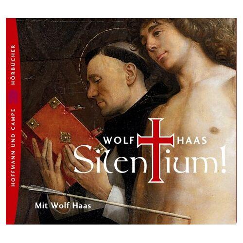 Wolf Haas - Silentium! 3 CDs - Preis vom 13.06.2021 04:45:58 h