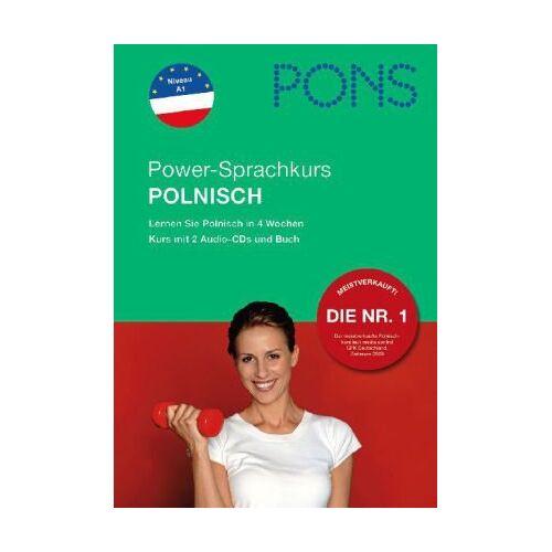 - PONS Power-Sprachkurs für Anfänger Polnisch. Buch und 2 Audio-CDs: Lernen Sie Polnisch in 4 Wochen - Preis vom 22.06.2021 04:48:15 h