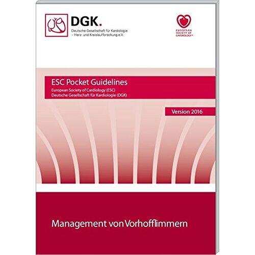 Deutsche Gesellschaft für Kardiologie - Management von Vorhofflimmern (Pocket-Leitlinien) - Preis vom 11.06.2021 04:46:58 h