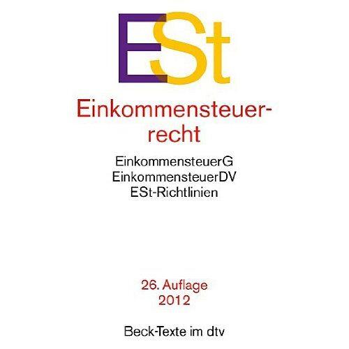 Wolfgang Heinicke - Einkommensteuerrecht: Einkommensteuergesetz mit Einkommensteuer-Grund- und -Splittingtabelle, Einkommensteuer-Durchführungsverordnung, ... Rechtsstand: 1. August 2013 - Preis vom 17.05.2021 04:44:08 h