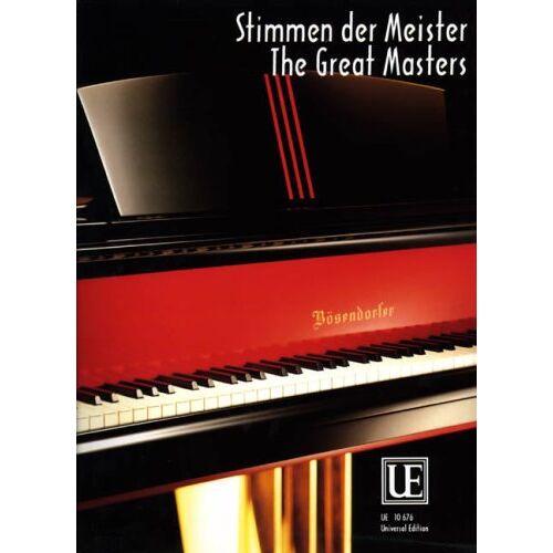 - Stimmen der Meister. Klavier - Preis vom 13.06.2021 04:45:58 h