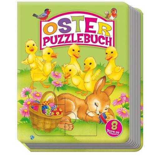 Edition Trötsch - Oster-Puzzlebuch mit 8 Puzzles - Preis vom 20.10.2021 04:52:31 h