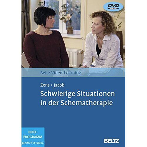 Christine Zens - Schwierige Situationen in der Schematherapie: Beltz Video Learning, 2 DVDs, Laufzeit: 195 Min. - Preis vom 01.08.2021 04:46:09 h