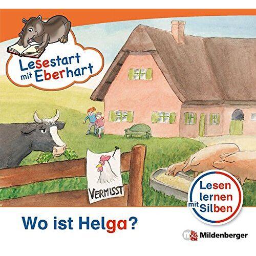 Stefanie Drecktrah - Lesestart mit Eberhart - Wo ist Helga?: Lesen lernen mit Silben - Themenhefte für Erstleser - Lesestufe 2 - Preis vom 29.07.2021 04:48:49 h