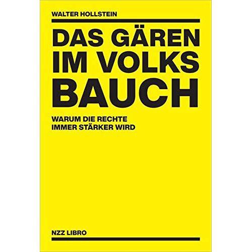 Walter Hollstein - Das Gären im Volksbauch: Warum die Rechte immer stärker wird - Preis vom 21.06.2021 04:48:19 h