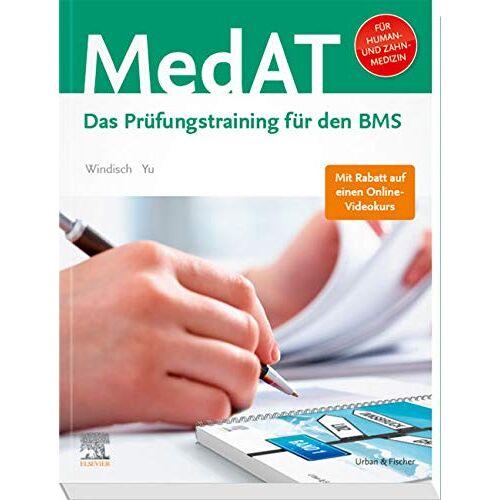 Windisch, Paul Yannick - MedAT Humanmedizin/Zahnmedizin: Das Prüfungstraining für den BMS - Preis vom 19.06.2021 04:48:54 h
