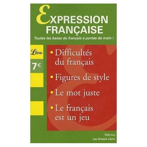 Librio - Librio: Expression Francaise - Preis vom 01.08.2021 04:46:09 h