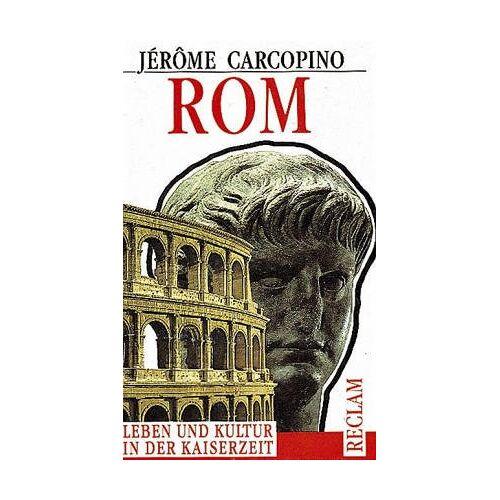 Jérôme Carcopino - Rom - Preis vom 12.06.2021 04:48:00 h