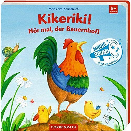 - Mein erstes Soundbuch: Kikeriki! Hör mal, der Bauernhof! - Preis vom 19.06.2021 04:48:54 h