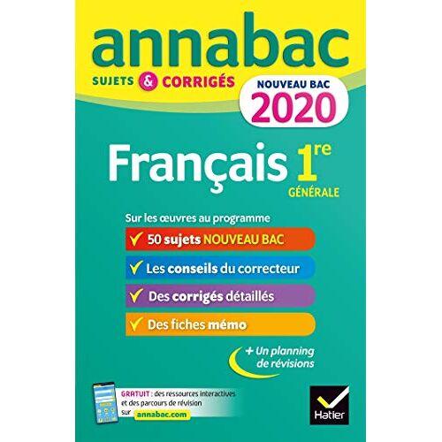 - Français 1re générale : Sujets et corrigés - Preis vom 12.06.2021 04:48:00 h