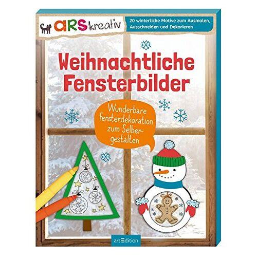 - Weihnachtliche Fensterbilder: Wunderbare Fensterdekoration zum Selbergestalten - Preis vom 15.06.2021 04:47:52 h