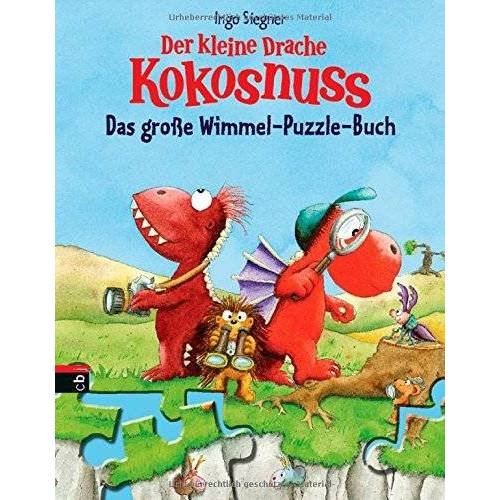 Ingo Siegner - Der kleine Drache Kokosnuss - Das große Wimmel-Puzzle-Buch: Mit 5 Puzzleseiten - Preis vom 15.09.2021 04:53:31 h
