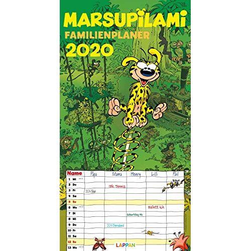 - Marsupilami: Marsupilami Famlienplaner 2020 - Preis vom 11.06.2021 04:46:58 h