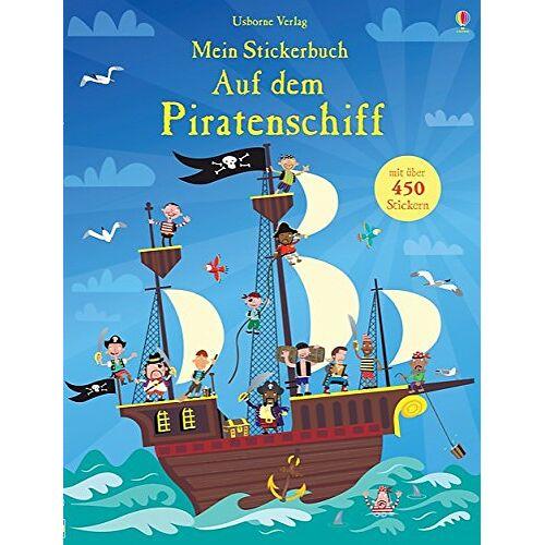 Fiona Watt - Mein Stickerbuch: Auf dem Piratenschiff - Preis vom 13.06.2021 04:45:58 h