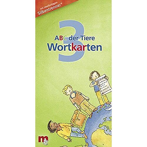 Mildenberger Verlag GmbH - ABC der Tiere 3 - Wortkarten in 5-Fächer-Lernbox - Preis vom 14.06.2021 04:47:09 h