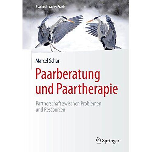 Marcel Schär - Paarberatung und Paartherapie: Partnerschaft zwischen Problemen und Ressourcen (Psychotherapie: Praxis) - Preis vom 24.07.2021 04:46:39 h