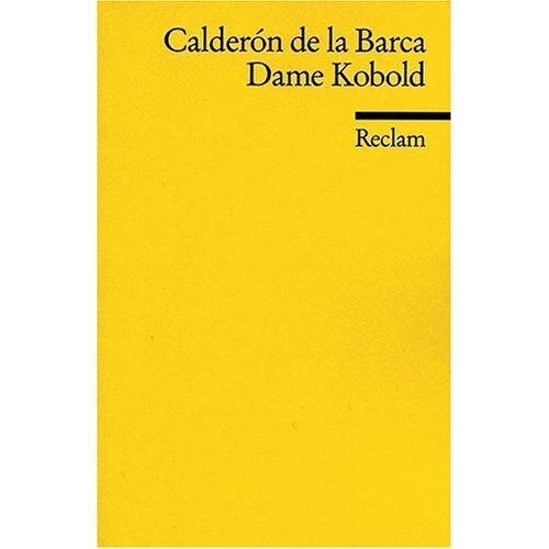 Pedro Calderón de la Barca - Dame Kobold - Preis vom 29.07.2021 04:48:49 h
