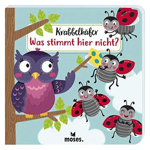 Sandra Kretzmann - Krabbelkäfer - Was stimmt hier nicht?   Pappbilderbuch für Kinder ab 2 Jahren   Unterschiede finden - Preis vom 19.06.2021 04:48:54 h