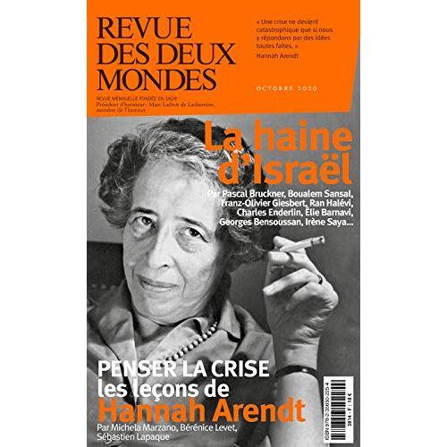 Collectif - REVUE DES DEUX MONDES OCTOBRE 2020 - LA DETESTATION D'ISRAEL - Preis vom 14.06.2021 04:47:09 h