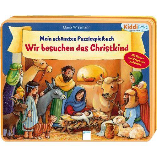Maria Wissmann - Mein schönstes Puzzlespielbuch - Wir besuchen das Christkind - Preis vom 02.08.2021 04:48:42 h
