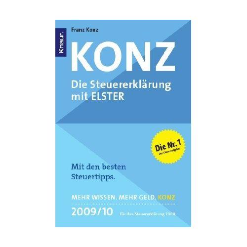 Franz Konz - Konz: Die Steuererklärung mit ELSTER - Preis vom 15.06.2021 04:47:52 h