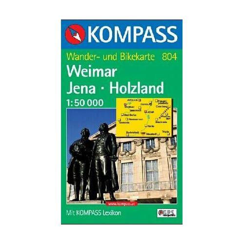 - Weimar, Jena, Holzland: Wander- und Bikekarte. 1:50.000. GPS-genau - Preis vom 19.06.2021 04:48:54 h