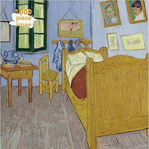 Flame Tree Publishing - Adult Jigsaw Vincent Van Gogh: Bedroom at Arles: 1000 Piece Jigsaw (1000-piece Jigsaws): 1000-piece Jigsaw Puzzles - Preis vom 16.05.2021 04:43:40 h